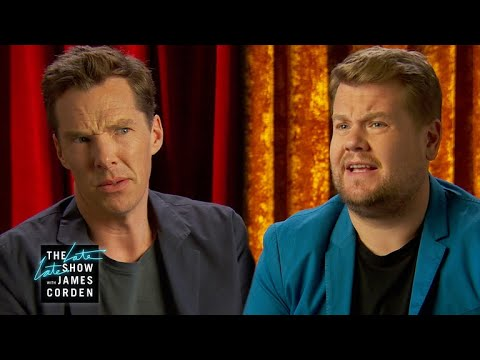 Benedict Cumberbatch & James Can't Share a Stage - YouTube