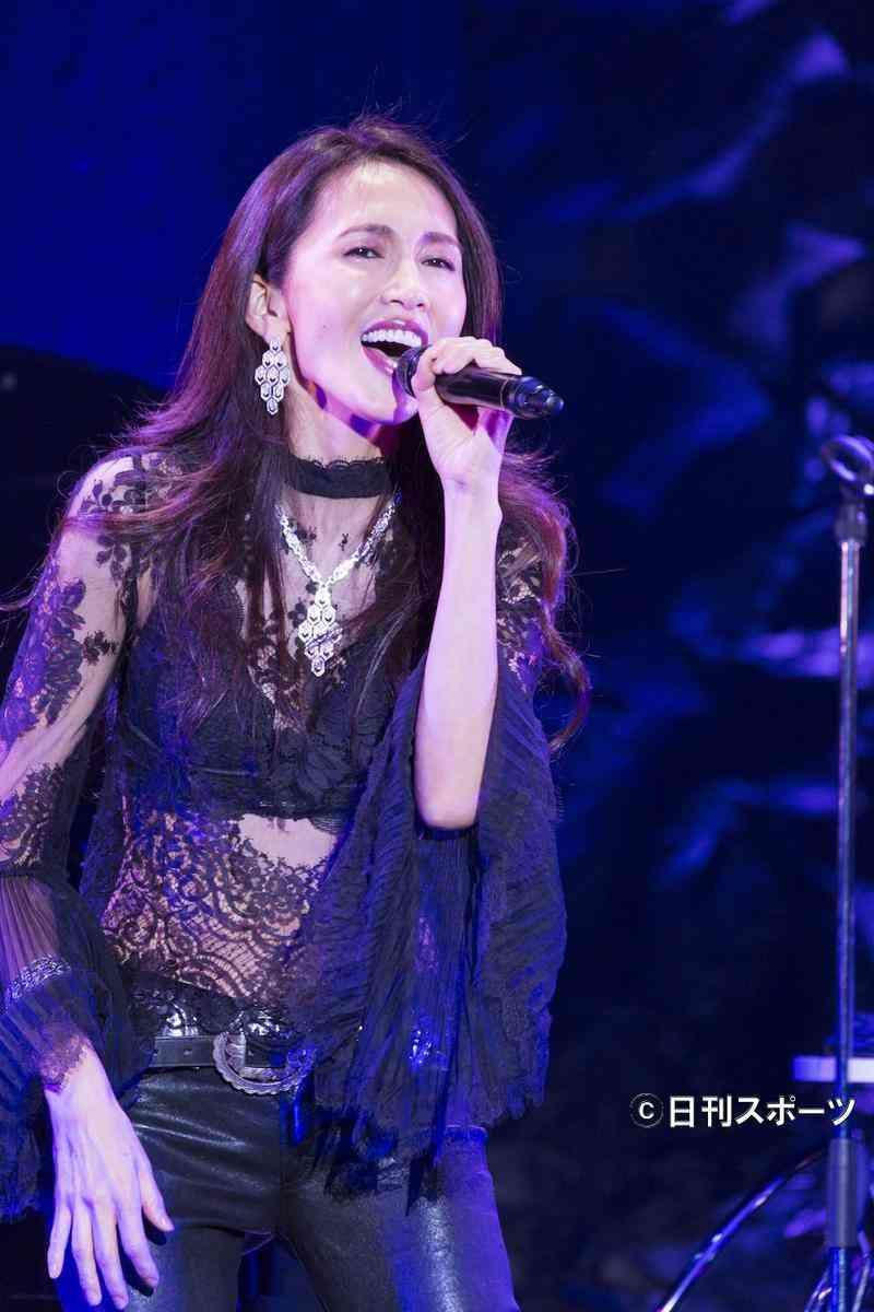 工藤静香、ツアー開始、次女Koki,の曲も披露 - 芸能 : 日刊スポーツ