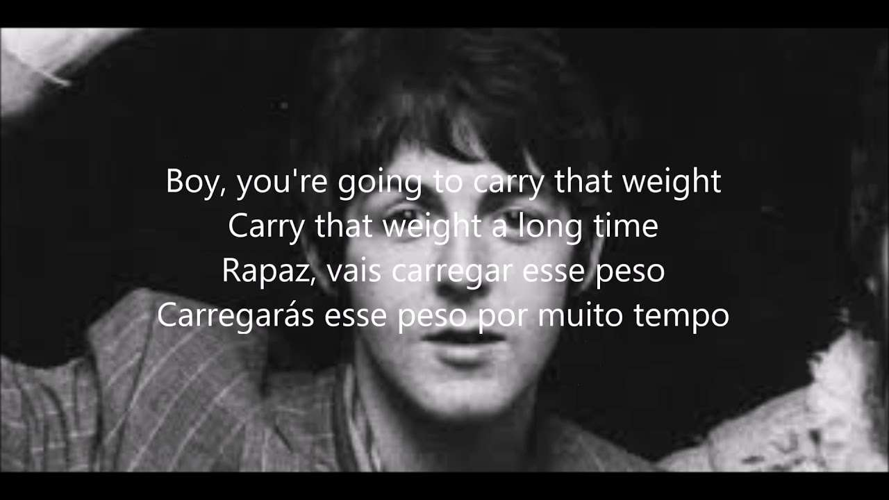 Golden Slumbers/ Carry that weight/The End with lyrics e tradução em português - YouTube