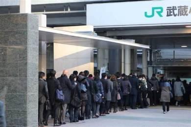 """""""住みたい街""""ランキング上位の武蔵小杉ーー混雑率188%、憎しみすら感じる電車通勤事情"""