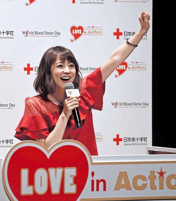 小林麻耶、献血イベントで麻央さん思い涙「輸血がなかったら妹といられた時間は…」