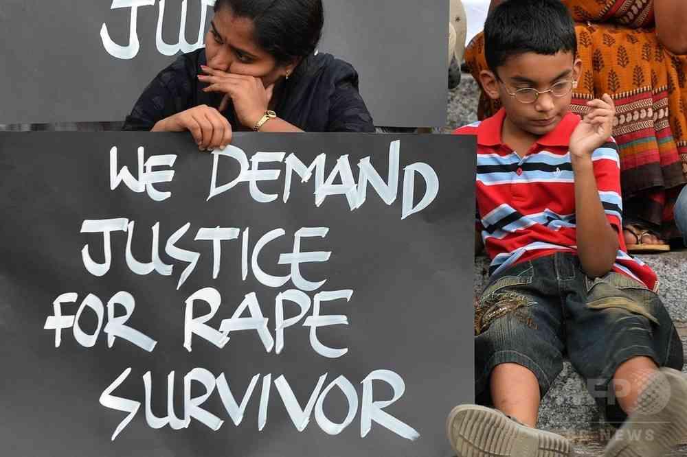 4歳少女に性的暴行の主犯格逮捕、インド 写真1枚 国際ニュース:AFPBB News