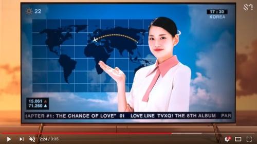 東方神起の新曲ミュージックビデオ 世界地図に日本の記載がなく謝罪 - ライブドアニュース