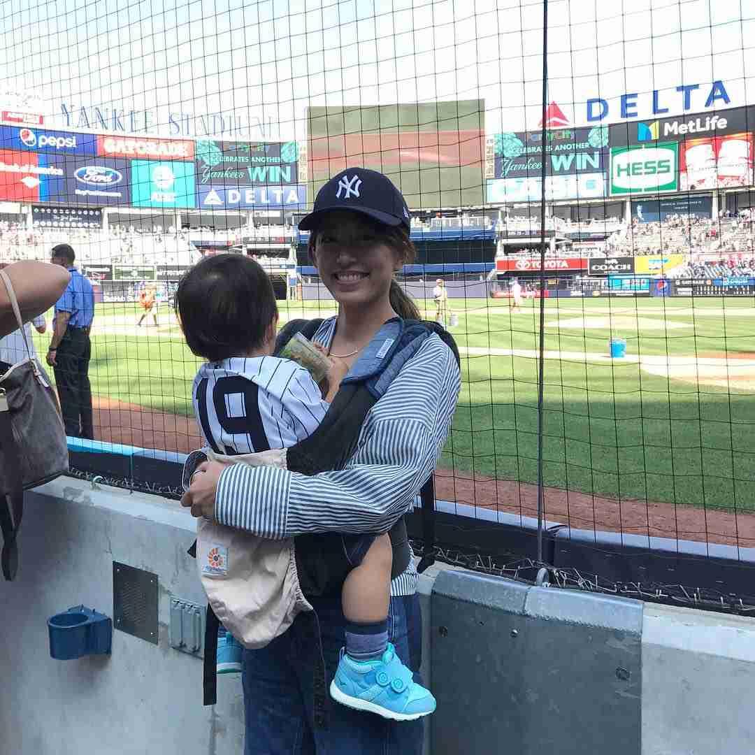 マー君こと田中将大投手ジュニア、2歳とは思えぬ「大物」 後ろ姿に「小学生かと」