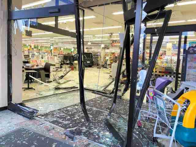 群馬のスーパーに車突っ込む 10人以上けがの情報(朝日新聞デジタル) - Yahoo!ニュース