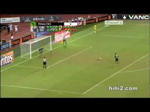 Zambia win 2012 Africa Cup of Nations - Herve Renard is the Bodyguard - YouTube