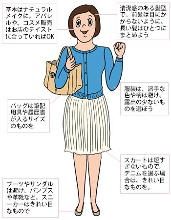 バイト面接のノウハウ(服装・質問・時間など) | フロムエーしよ!!