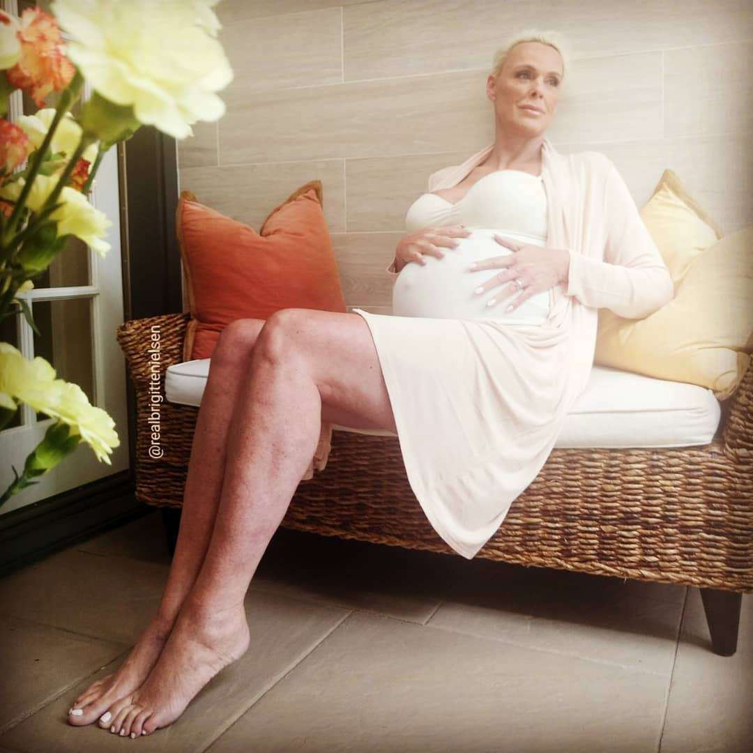 シルヴェスター・スタローンの元妻・女優ブリジット・ニールセンが54歳で妊娠