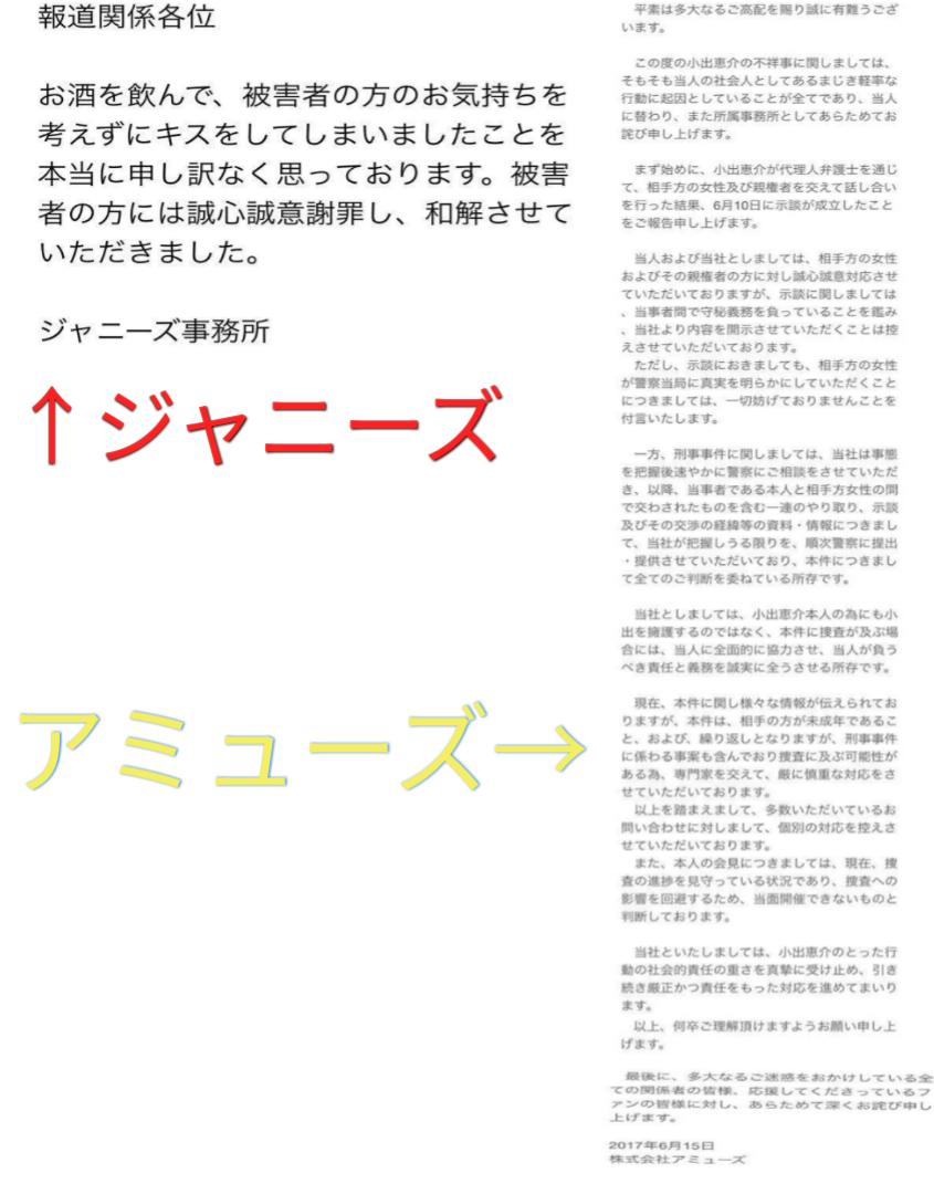 小山慶一郎、未成年と飲酒問題で活動自粛 加藤シゲアキに厳重注意