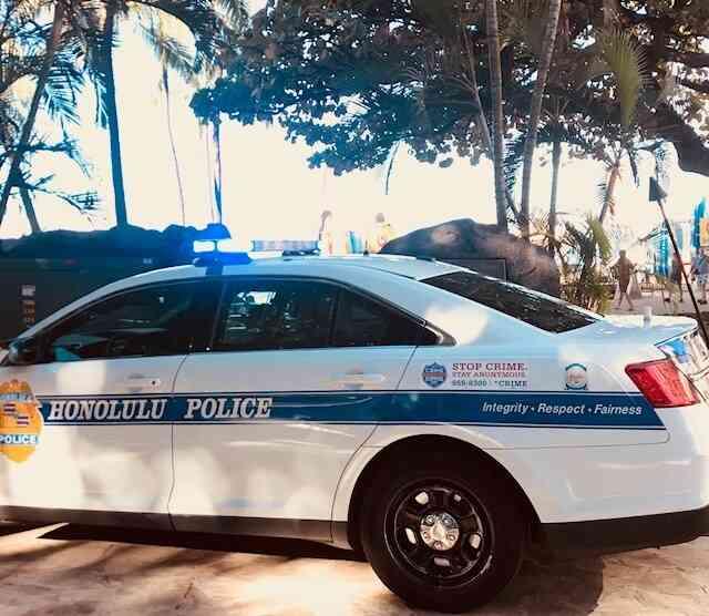 またハワイで拳銃強盗発生@9:15AM。被害者は日本人。そしてヒルトンホテルのエレベーターで、