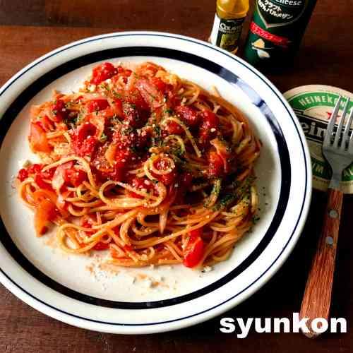 【できました!!簡単!】レンジでトマトソーススパゲッティ&トマトクリームスパゲッティ | 山本ゆりオフィシャルブログ「含み笑いのカフェごはん『syunkon』」Powered by Ameba