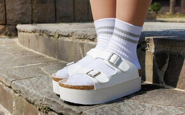 サンダル×靴下…どう思いますか?!2