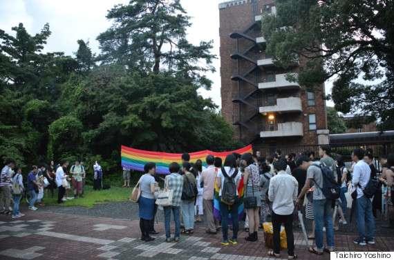 同性愛を暴露されて転落死した一橋大院生の追悼集会「本当のことが知りたい」それぞれの思い