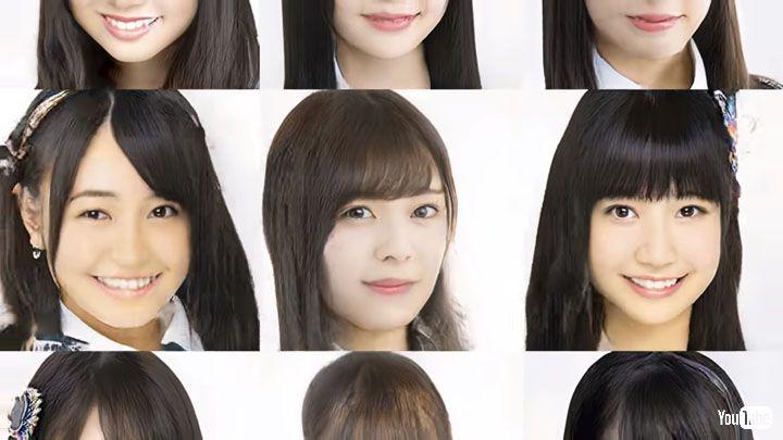 """架空アイドルの顔画像を自動で生成するAIが開発 """"アイドル顔""""の特徴を学び多様な顔を生み出す"""