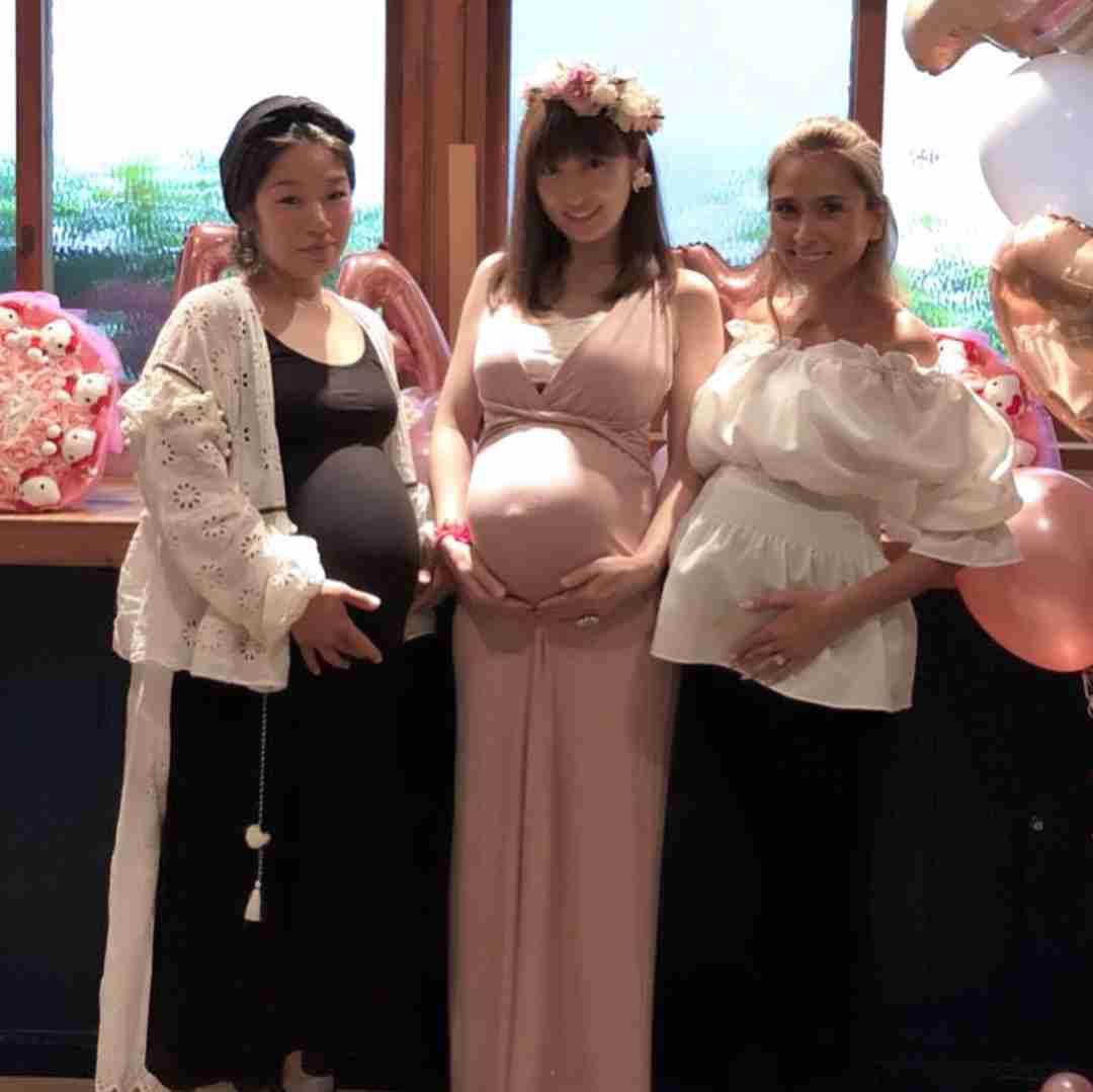 「何度目でも出産は命懸け」 妊娠10カ月の熊田曜子、MALIA.と妊婦同士のベビーシャワー開催