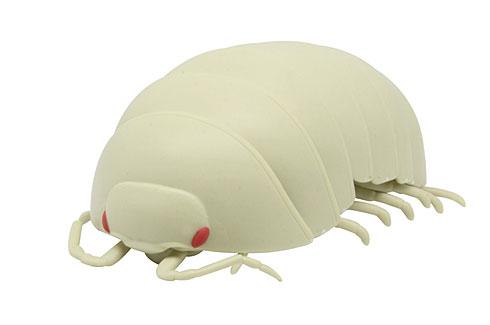(虫苦手な人は注意?)ダンゴムシを10倍の大きさで立体化したカプセルトイ 丸くなる体を忠実に再現