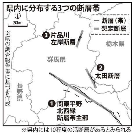大地震:「熊本と群馬」似た地形 各地に痕跡「無縁ではない」 熊原康博・広島大准教授に聞く /群馬 - 毎日新聞