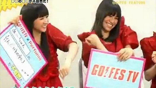 2010-04-21 GO!FES TV Perfume - 動画 Dailymotion