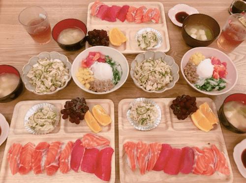 辻希美、手巻き寿司の少な過ぎるネタの種類にツッコミの嵐