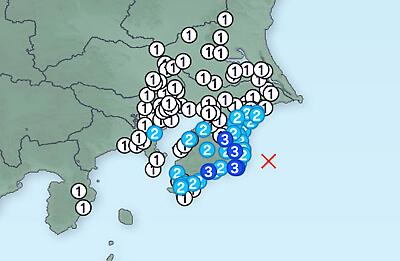 [前兆]千葉県で地震が相次いで発生。千葉県および関東地方にお住まいの方は警戒をしてください