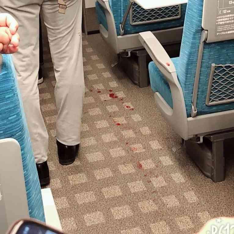【目撃証言】東海道新幹線 新横浜-小田原のぞみ265号車内で斧のような刃物に刺されて複数人怪我6/9 - NAVER まとめ