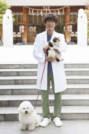 相葉雅紀 初の獣医役、テレ朝10月新ドラマで