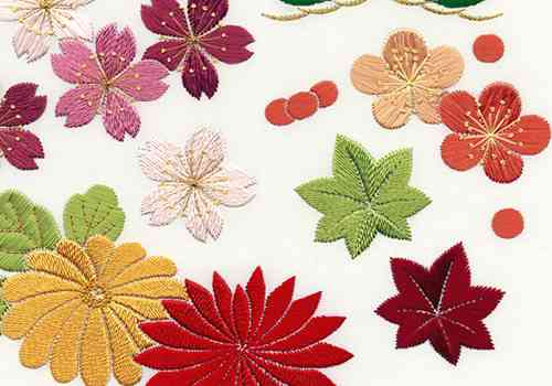 美しい刺繍