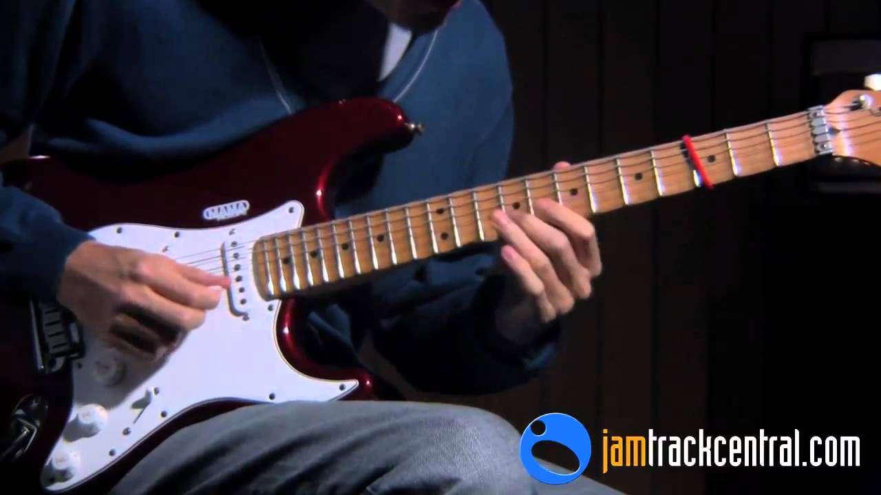 Daniele Gottardo - Guitar Sbrego   JamTrackCentral.com - YouTube