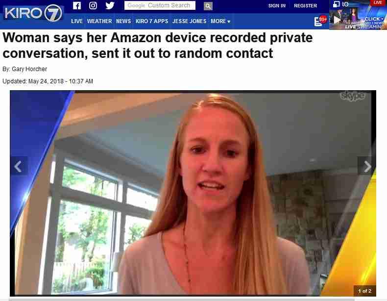 Alexaが夫婦の会話を勝手に録音して部下に転送 非常に珍しいが対処するとAmazon - ITmedia NEWS