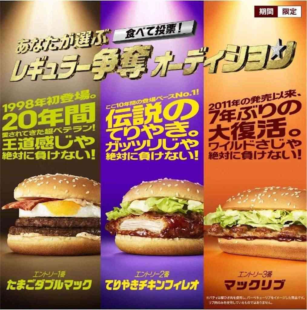 マクドナルドの新ハンバーガーを勝手に考えるトピ