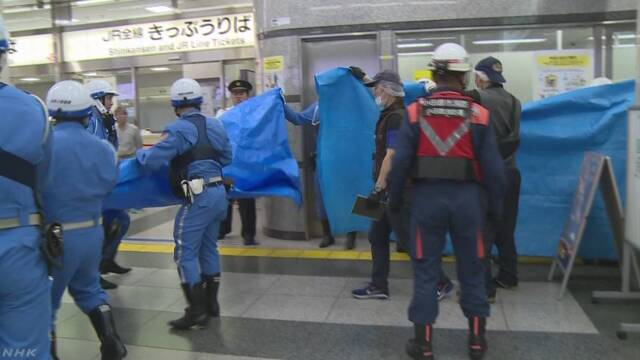 新幹線殺傷事件「男と被害者との間にトラブルなかった」 | NHKニュース