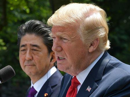 朝鮮戦争終結合意も=トランプ大統領、会談成功なら金正恩氏の訪米招請