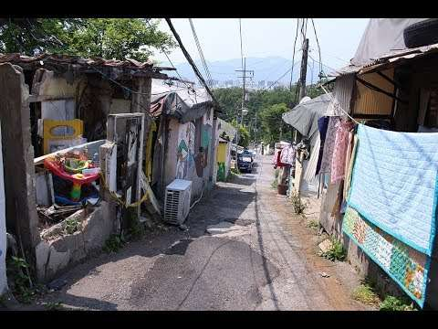 韓国のソウルのスラム街・タルトンネを再び歩いてみた(初夏) - YouTube