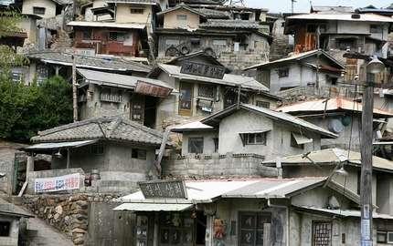 韓国のスラム街とホームレス、急増する貧困者