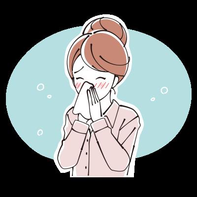 アレルギー性鼻炎の人!