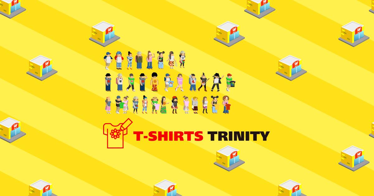 話題の殿堂!メディア紹介Tシャツ特集 デザインTシャツ通販【Tシャツトリニティ】