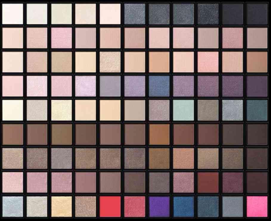松岡茉優、愛するモー娘。へ『ADDICTION』のアイシャドウ全99色から4色をセルフカスタマイズしメンバー13人全員にプレゼント