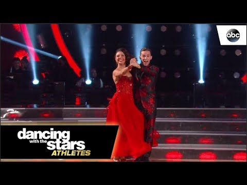 Adam & Jenna's Quickstep - Dancing with the Stars - YouTube