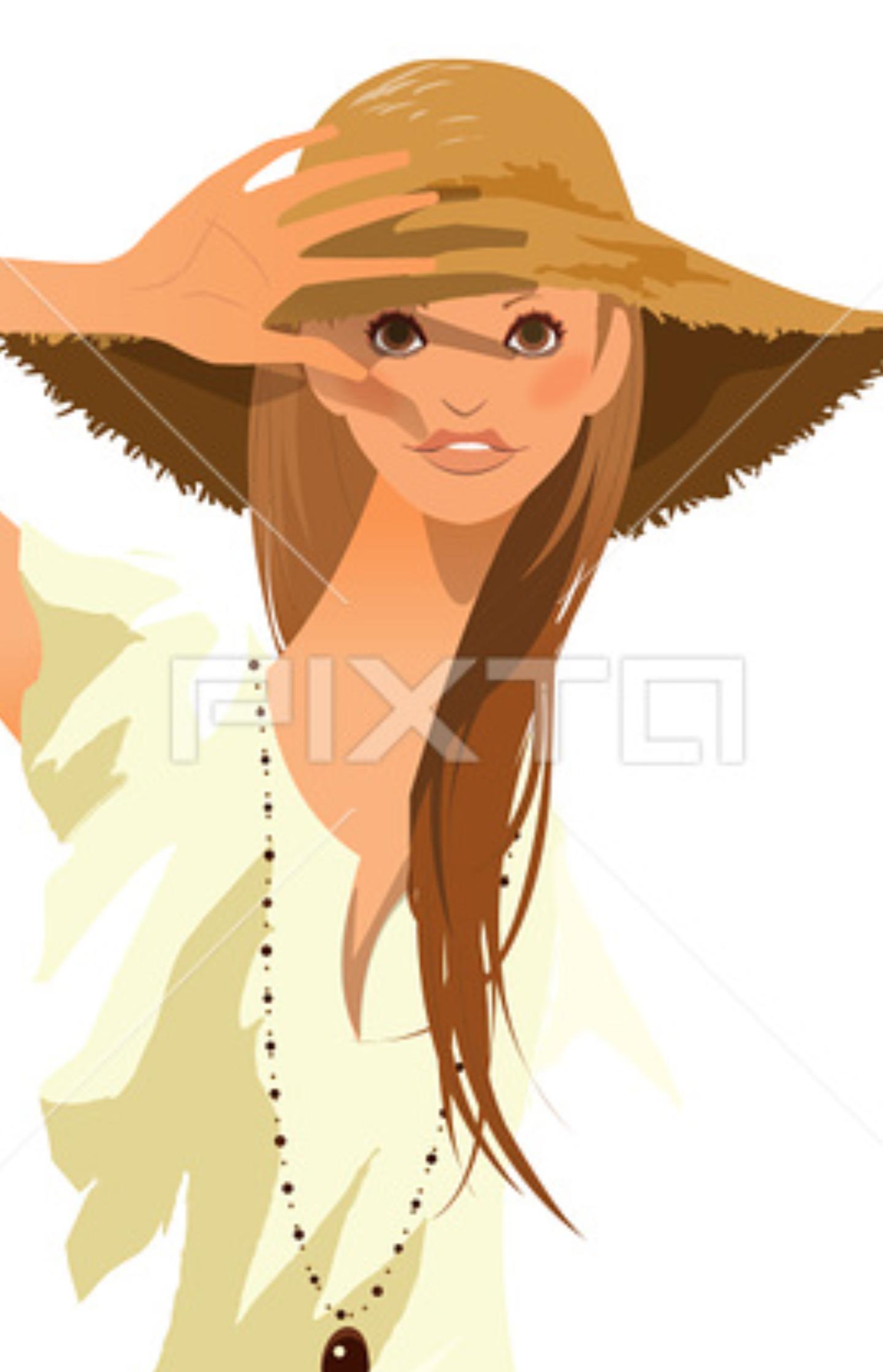 夏は帽子派ですか日傘派ですか?