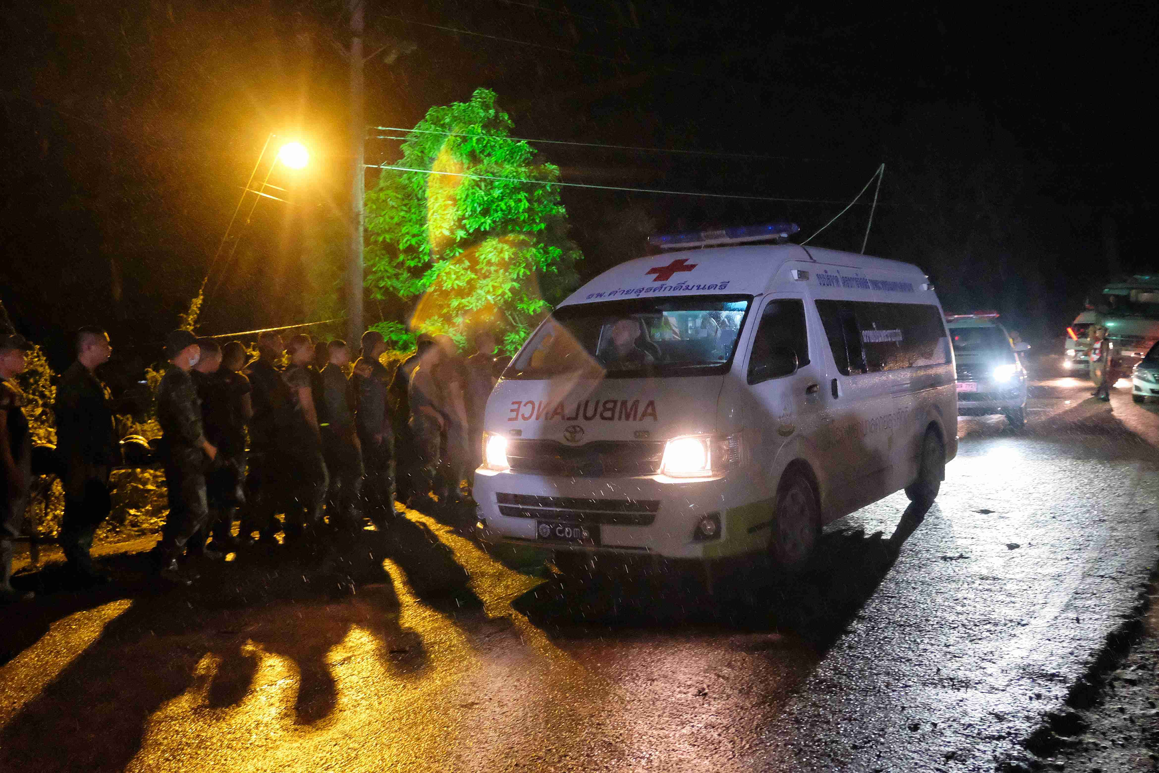 Four Thai soccer players rescued from cave identified