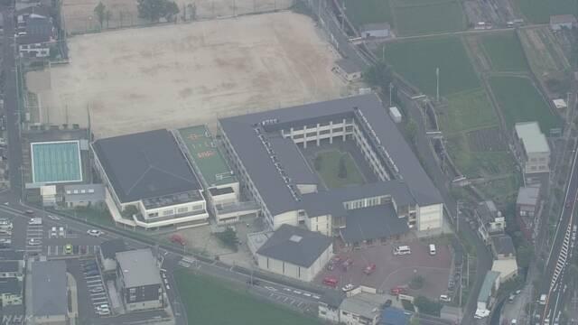 大阪 枚方の中学校で熱中症か 女子生徒9人搬送
