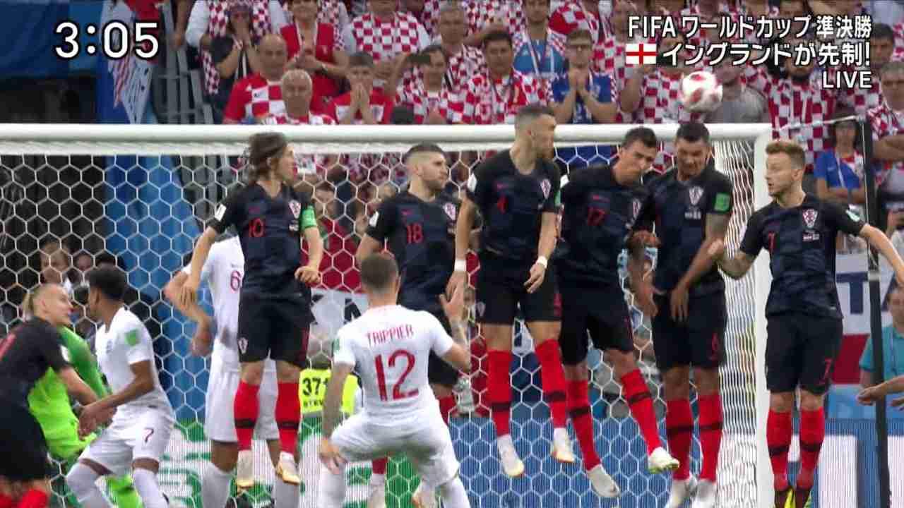 【実況・感想】ワールドカップ ロシア 準決勝  「イングランド vs クロアチア」