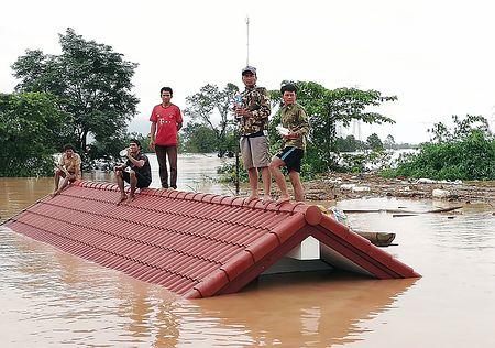 ラオスでダム決壊、数百人不明=6600人超が家失う