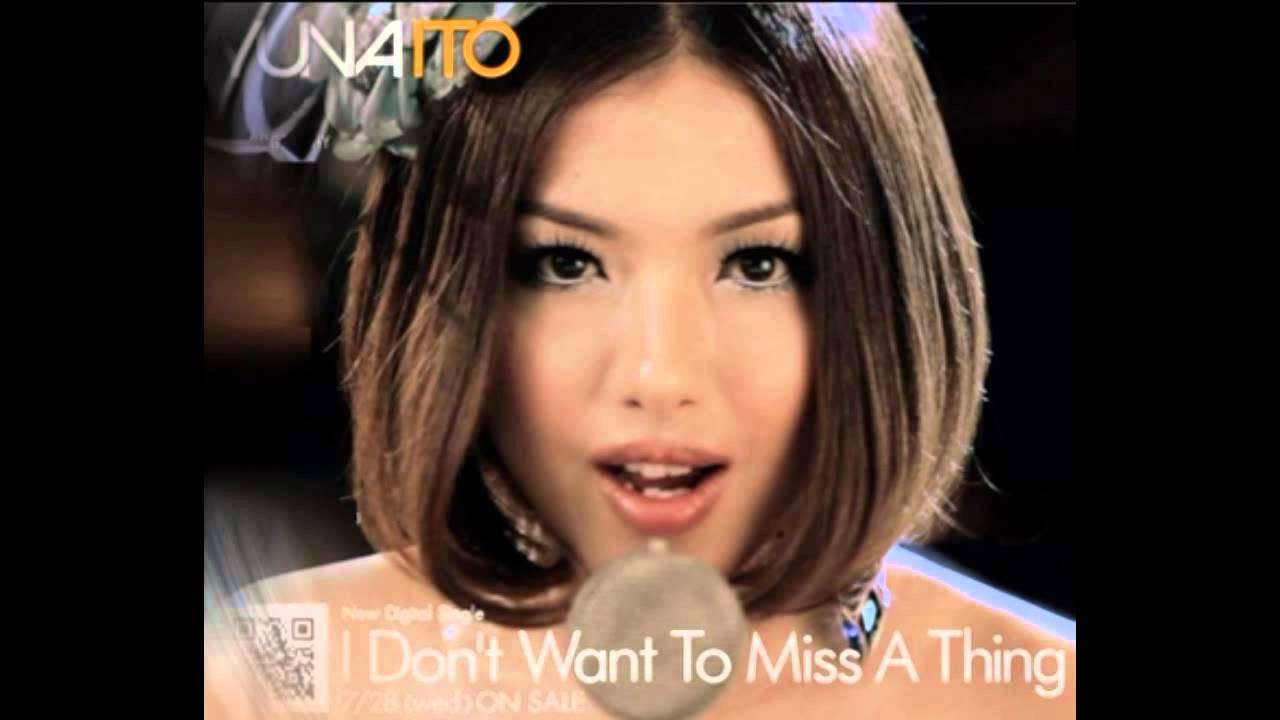 I don't want to miss a thing by Yuna Ito - YouTube