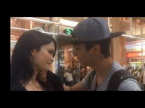 日本人女相手に100%その場でキスできるブラジル男性が話題 (愛知県・名古屋市) - YouTube