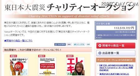 1位はYOSHIKIのピアノ……ヤフオク「東日本大震災チャリティーオークション」1億円突破 - ライブドアニュース