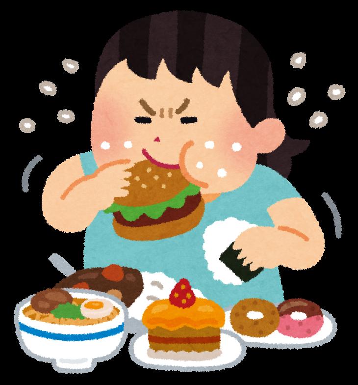 太る為の食生活!