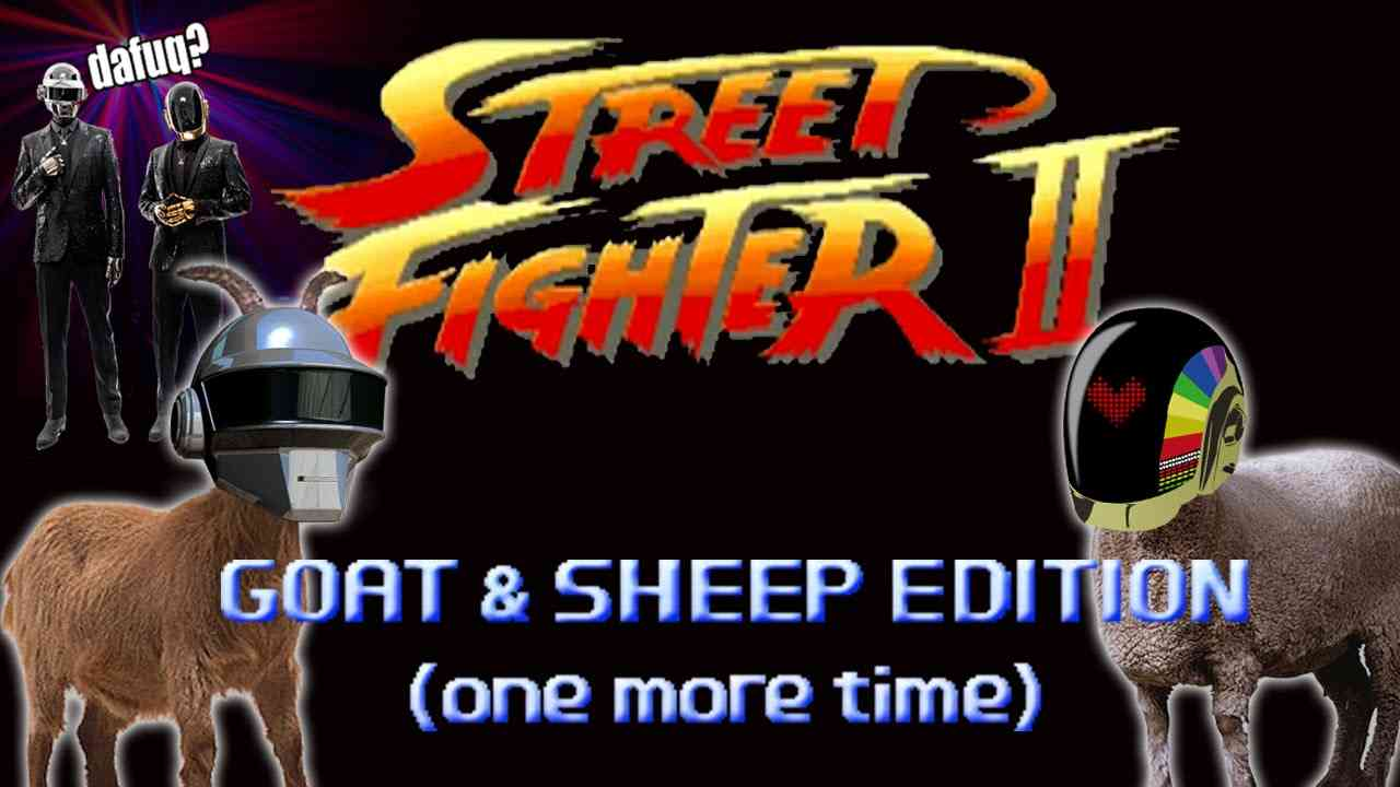 Street Fighter: Goat & Sheep Edition (one more time) - Marca Blanca - YouTube