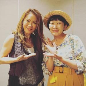 たんぽぽ川村エミコ、大黒摩季との2ショットに感激「マジかっこよかったです!!」