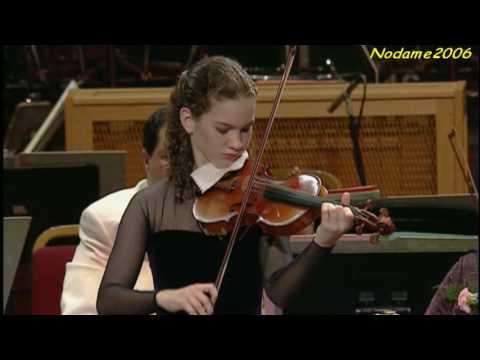 Hilary Hahn Bach Violin Sonata no.1 presto - YouTube